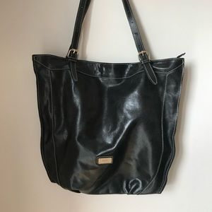 Prüne Genuine Leather (Bovine/Cowhide) Black Bag